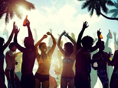 VIP Poolside Sun Lounger at Puro Beach in Marbella