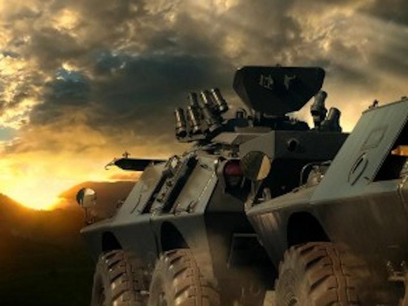 Armoured Car Ride Inc Return Transfers in Bratislava