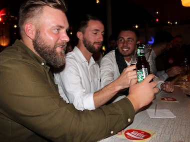 Booze Night Bar Crawl inc One Hour Unlimited Beer in Bratislava