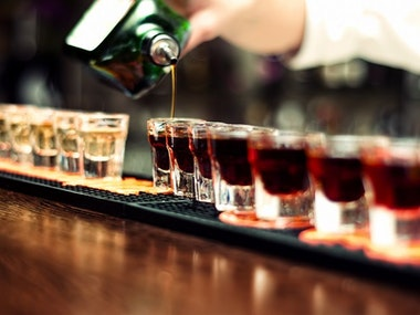 Guided Booze Night Pub Crawl with Shots in Prague