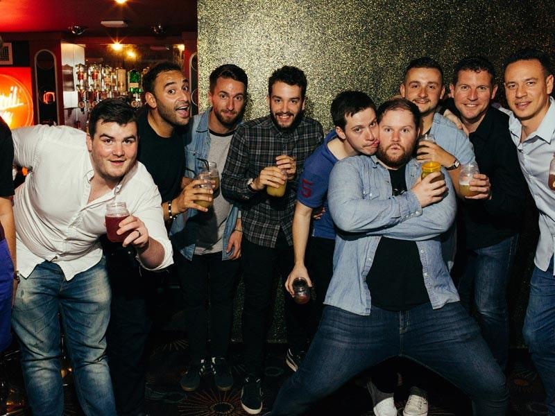 Booze Night Bar Crawl inc One Hour Unlimited Beer in Bratislava