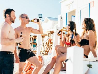 Beach Bar Day Experience in Marbella