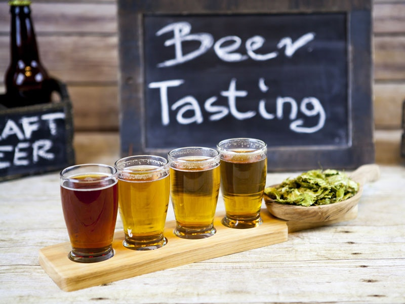 Beer Tasting with Deluxe Sides