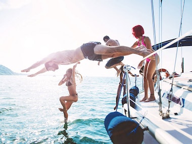 Sunset Boat Party incl. Pre-Beach Party and Nightclub in Ibiza