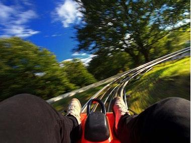 Bobsledding - 5 Slides in Budapest