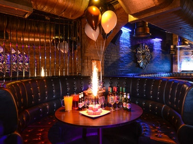 Vip Booth Package incl. 2 bottle of spirits at Tramps Nightclub in Tenerife