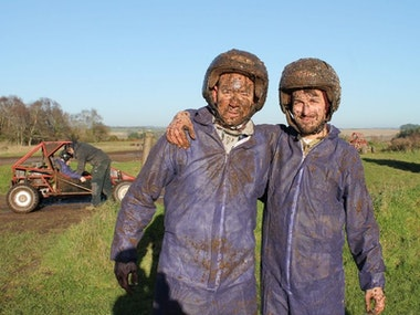 Mud Buggies & Clay Pigeon Shooting Experience in Newcastle