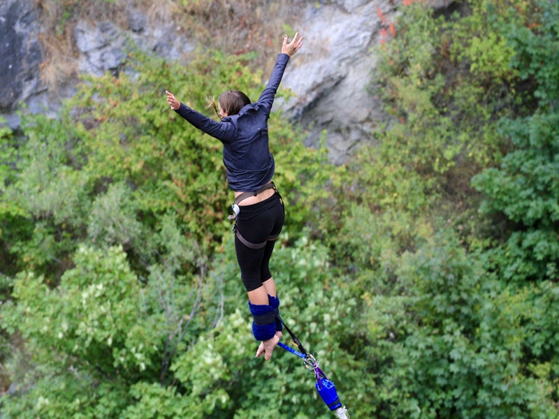 Bungee Jumping Experience incl Return Transfers