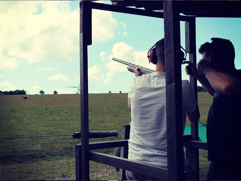 Clay Pigeon Shooting, Archery, Blind Driving & Axe Throwing