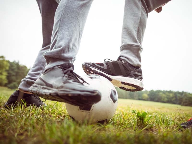 Five-a-Side Football with Bikini Ref