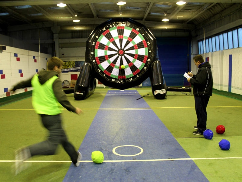 Footdarts in Cardiff