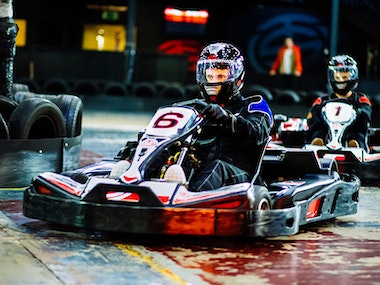 Indoor Go-Karting Experience (Grand Prix) with Return Transfers in Amsterdam