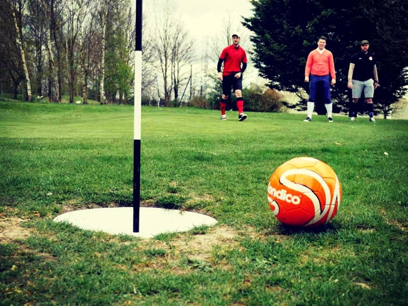 Footgolf with Transfers