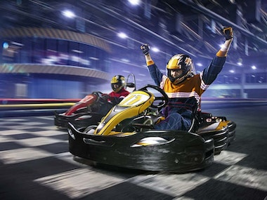 Indoor Go-Karting Budget in Prague