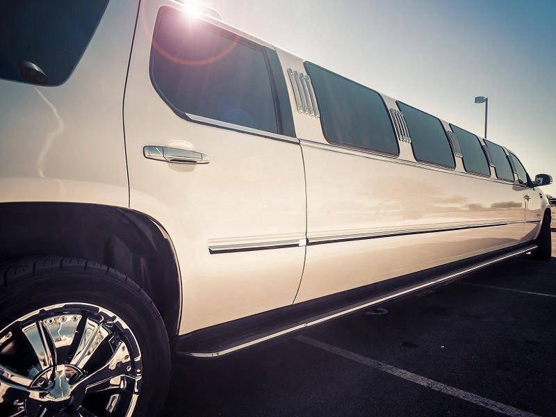Limousine Hummer with Stripper