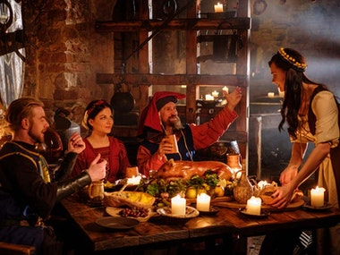 Medieval Banquet Dinner in Bratislava