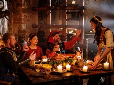 Medieval Banquet in Budapest