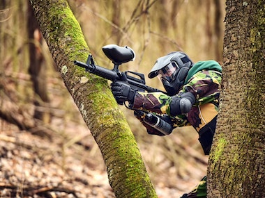 Full Day Paintballing Incl 100 Paintballs in Dublin