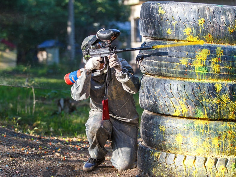 Paintball, Archery and Air Rifling Experience in Manchester