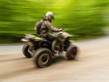 Quad Bikes and Paintballing including 400 Paintballs in Cardiff