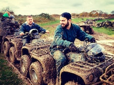 Quad Biking Forest Tour (Single Quad) incl Return Transfers