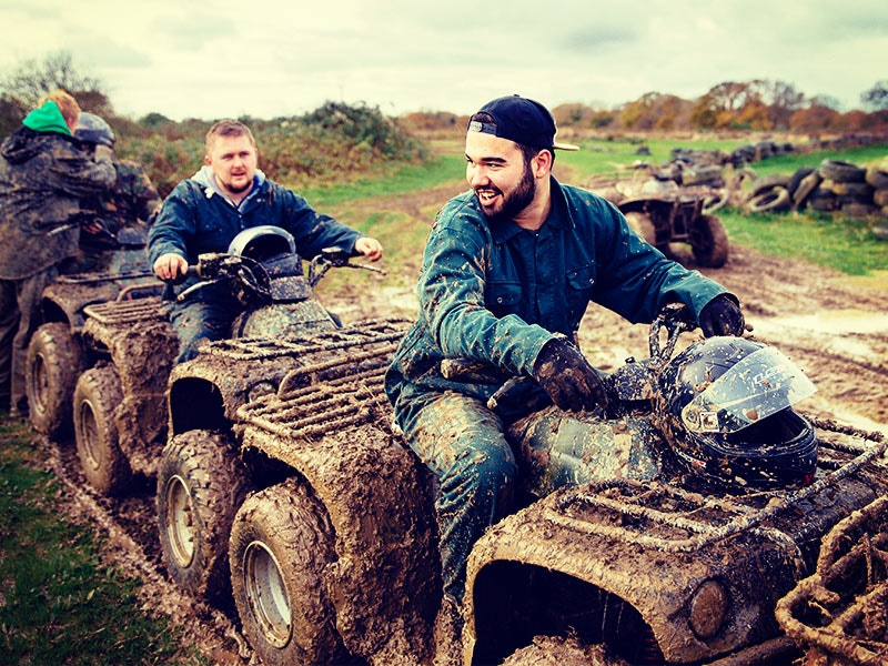Quad Biking and Clay Pigeon Shooting Experience