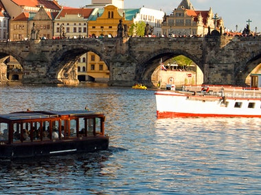 Private River Cruise with Stripper and Unlimited Beers in Prague