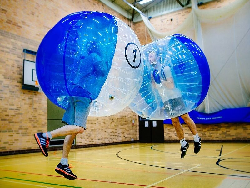 Bubble Football, Burger and Beers Combo