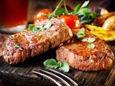 Steak and Pint at Yates