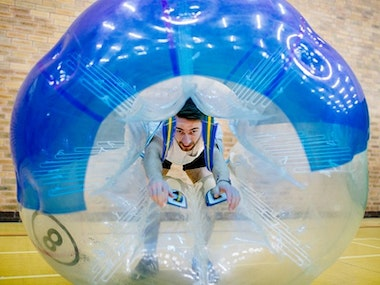 Bubble Football and Binocular Football Experience in Brighton
