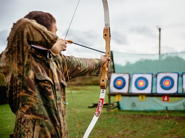 Off Road Driving and Archery Experience in Dublin