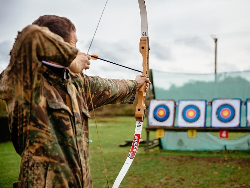 Archery, Air Rifle & Quad Bike Experience