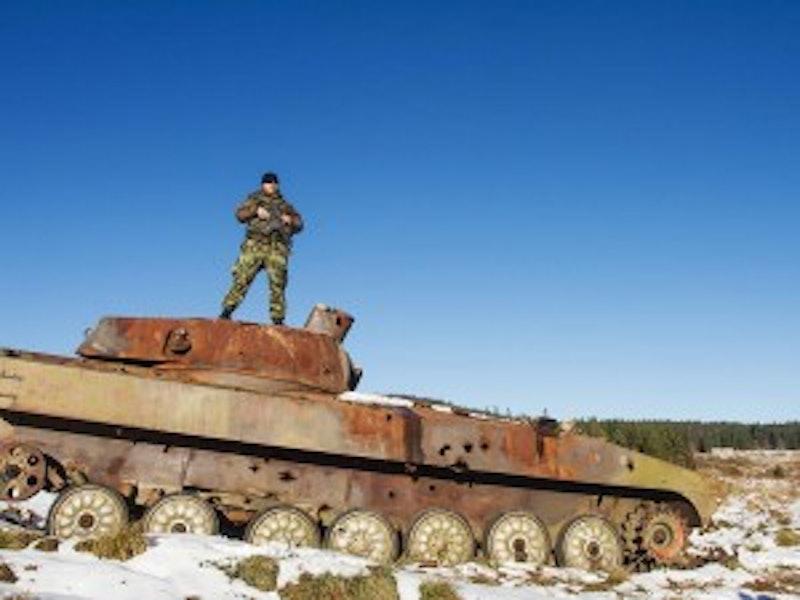 Mini Tank Driving