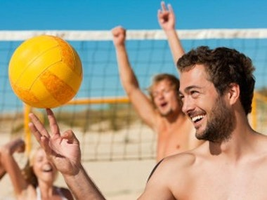 Beach Volleyball Court Hire in Newquay