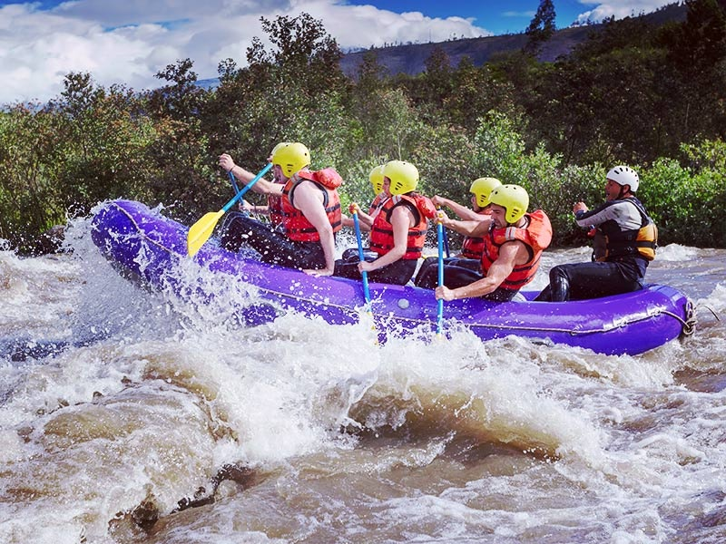 White Water Rafting Experience in Cardiff