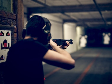 Firearm Shooting Upgrade Package in Riga