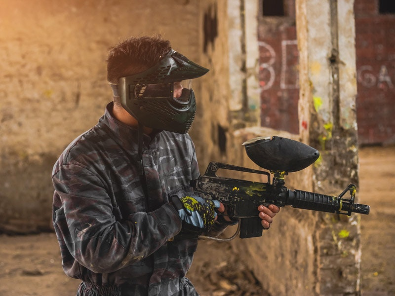 Indoor Paintball Session incl 100 Balls and Lunch in Edinburgh