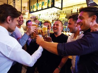 Guided Bar Crawl inc Nightclub Entry in Newcastle