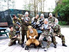 Paintballing with 100 Free Paintballs and Return Transfers