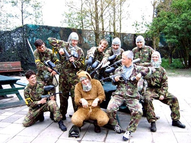 Paintballing with 100 Free Paintballs and Return Transfers in Amsterdam