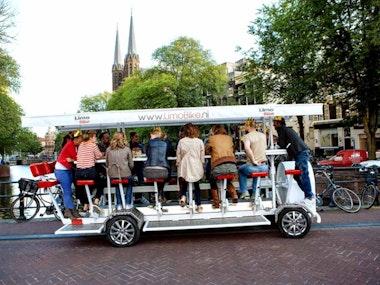 Beer Bike in Amsterdam