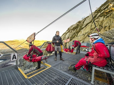 Zip World Velocity in Snowdonia