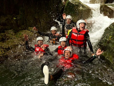 Canyoning Experience in Snowdonia