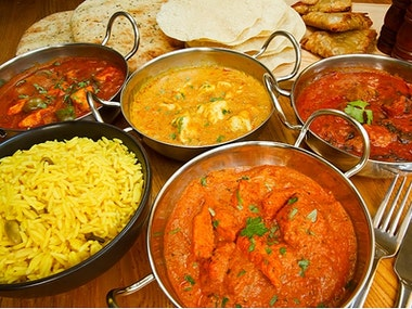 Indian Meal in Bournemouth