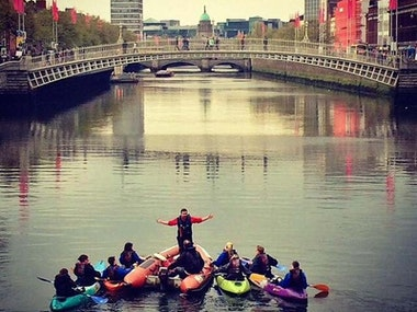 City Kayaking Experience in Dublin