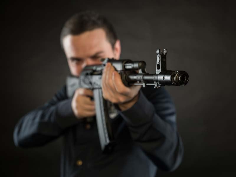 AK47 Shooting Experience in Bratislava