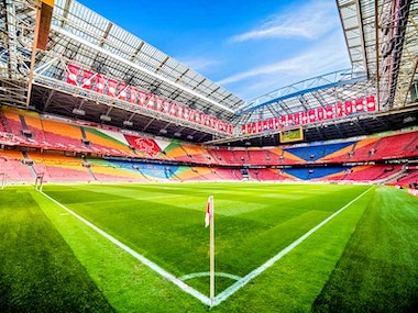 Ajax Matchday Package Inc Return Transfers in Amsterdam