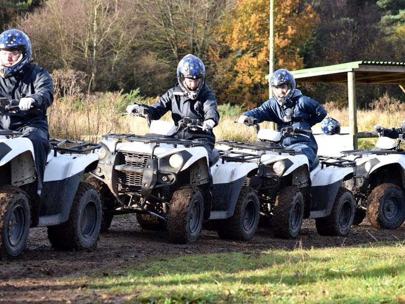 Quad Biking & Clay Pigeon Shooting Experience