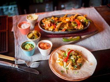 Two Course Meal at Las Iguanas in Brighton