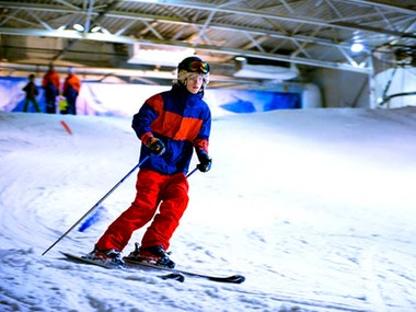 Indoor Snowboarding with Return Transfers in Amsterdam
